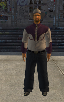Cowboy - hispanic-jacket - character model in Saints Row