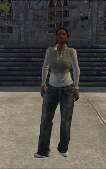 Generic black female - bk3 - character model in Saints Row