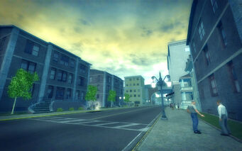 Harrowgate in Saints Row 2 - street