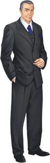 Saints Row character promo - William Sharp