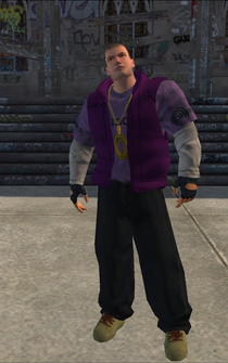 Saints male KillaC - White - character model in Saints Row