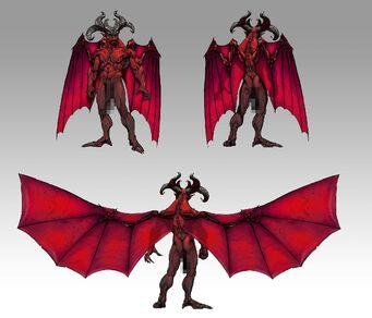 Satan Concept Art