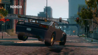 Torch - rear right in Saints Row - The Third - Vehicular Improvements trailer