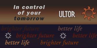 Ultor scrolling signs