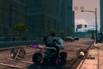 Verminator - rear right in Saints Row The Third