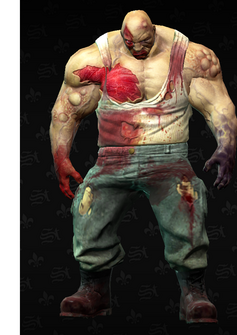 Zombie Brute - character model in Saints Row The Third