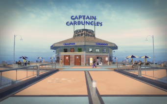 Centennial Beach - Captain Carbuncle's