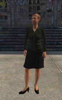 Generic young female 01 - DowntownGunStore - character model in Saints Row