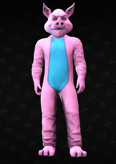 Mascot08 - Pig - character model in Saints Row The Third