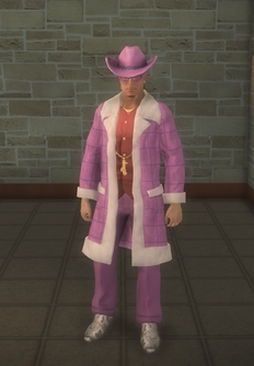Pimp - white - character model in Saints Row 2