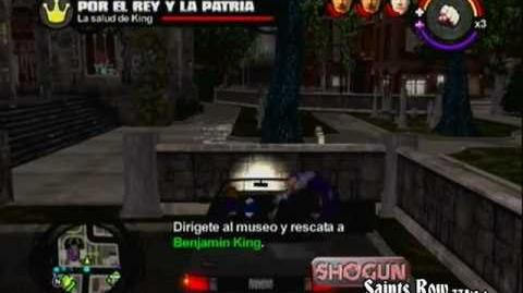 Por el rey y la patria Saints Row