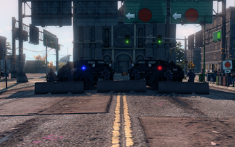 SRTT Roadblock - Police level 4 - small