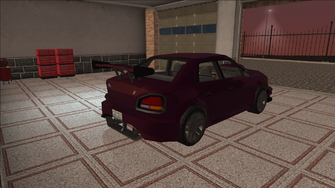 Saints Row variants - Voxel - Racer 01 - rear right