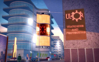 Athos Bay in Saints Row 2 - Ultor watching and protecting
