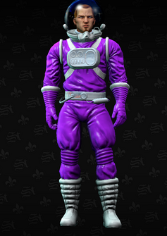 Gang Customization - Space Saints 1 - Bud - in Saints Row The Third