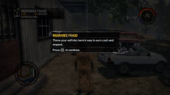 Insurance Fraud tutorial in Saints Row 2
