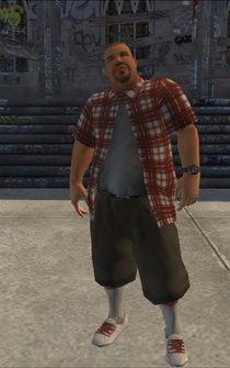 Los Carnales male Thug2-02 - intro lca - character model in Saints Row