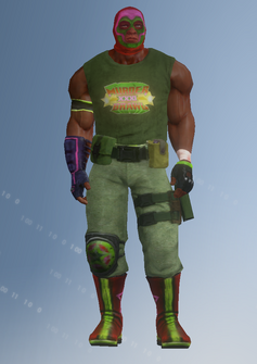 Luchador - Leroy - character model in Saints Row IV