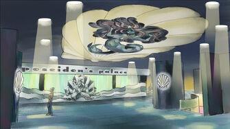 Poseidon's Palace Concept Art - Saints Row 2 coloured lobby