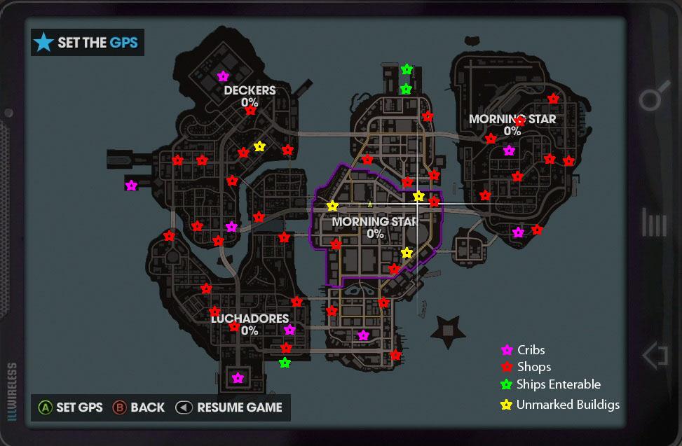 Image - Steelport map.jpg | Saints Row Wiki | FANDOM powered by Wikia