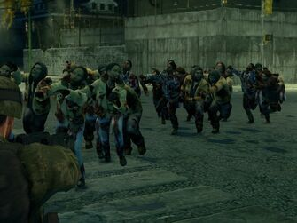 A horde of Zombies on Arapice Island