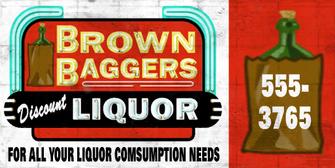 Brown Baggers - Saints Row 2 billboard
