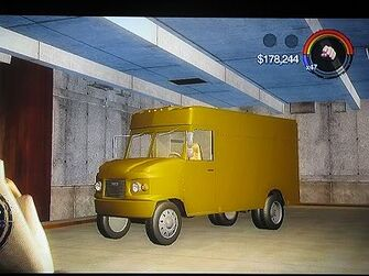 Delivery Truck - front left in Saints Row 2