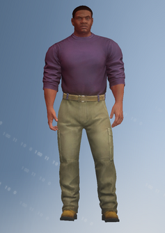 Keith - they live - character model in Saints Row IV