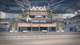 Rounds Square Shopping Center exterior front