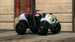 Sad Panda - front right in Saints Row The Third