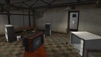Abandoned Storefront - back room outside mission