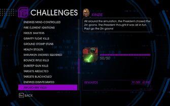 Challenge 50 Inflato-Ray Kills