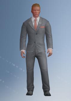 Dane Vogel - character model in Saints Row IV