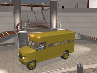 Delivery Truck - Great Freight variant