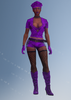 Gang Customization - Stripper 6 - Melissa - in Saints Row IV