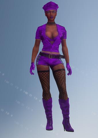 Gang Customization - Stripper 6 - Melissa - in Saints Row IV