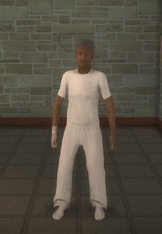 Patient - black male - character model in Saints Row 2