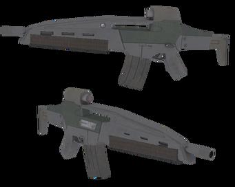 AR-50 XMAC model