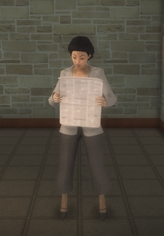 Business female - business female paper preset - character model in Saints Row 2