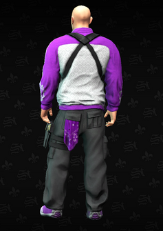 CheapyD rear - character model in Saints Row The Third