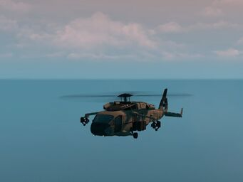 Eagle - Ultimate variant - front left in flight in Saints Row The Third