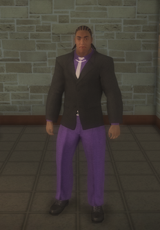 Gang Customization - Bodyguards - male lieutenant 2 - black