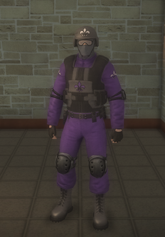 Gang Customization - Bodyguards - male soldier 2 - white