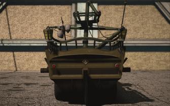 Saints Row IV variants - Scallywagon - rear