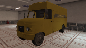 Saints Row variants - Delivery Truck - Great Freight - front left