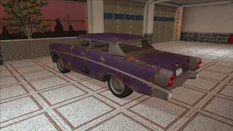 Saints Row variants - Hollywood - BeaterPurple1 - rear left