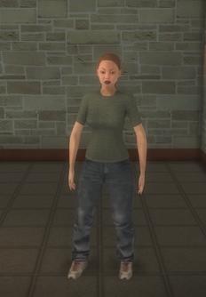 Streaker - generic female - character model in Saints Row 2