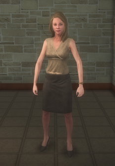 Anna - old hair - character model in Saints Row 2