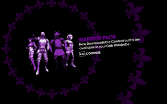 DLC unlock SRTT - Warrior Pack