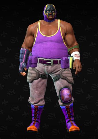 Gang Customization - Luchador 1 - Reggie - in Saints Row The Third